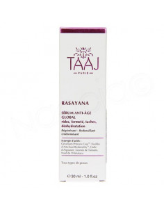 Taaj Rasayana Sérum Anti-âge Global. 30ml