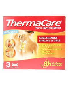 Thermacare Patch Auto-chauffant x3 patchs multi-zones