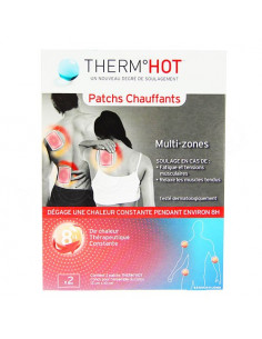 Therm Hot Patchs Chauffants Multi-Zones x2