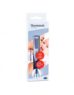 Thermoval kids flex thermomètre électronique pour bébé rapide avec embout flexible