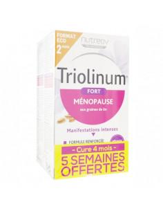 Triolinum Fort Ménopause. Lot 2x60 capsules - Cure 4 mois