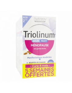 Triolinum Ménopause Jour/Nuit. Lot 2x120 gélules - Cure 4 mois