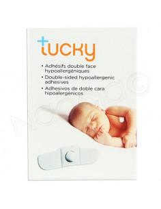Tucky Adhésifs Double Face Hypoallergéniques. x15