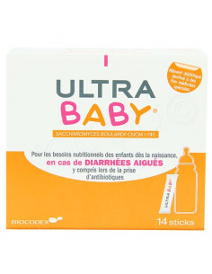 Ultra Baby Diarrhées Aiguës. 14 sticks