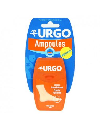 Urgo Ampoules Côté du Pied. x6 pansements hydrocolloïdes