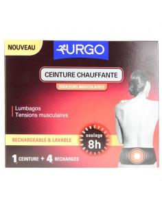 Urgo Ceinture Chauffante + 4 recharges