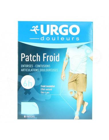 Urgo effet froid 6 patchs