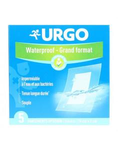 Urgo Pansements prédécoupés waterproof Optiskin 10x7cm Boite de 5