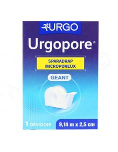 Urgopore Géant Sparadrap Microporeux. 914 m x 25 cm