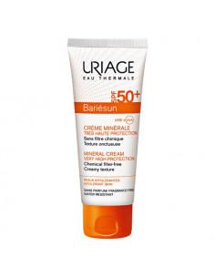 Uriage Bariésun Crème solaire Minérale SPF50+ Peaux allergiques. Tube 100ml