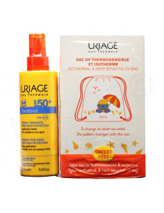 Uriage Bariésun Spray Solaire Enfants SPF50+ Peaux Sensibles. 200ml + Sac Isotherme offert
