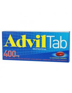 AdvilTab 400mg 14 comprimés enrobés
