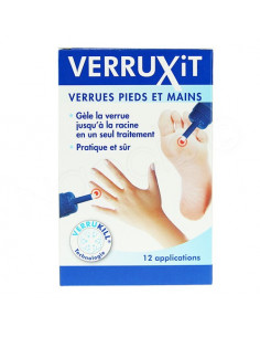 VERRUXIT Traite les verrues. Flacon de 50ml - ACL 4816738