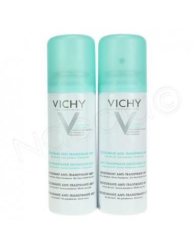 Prix Spécial VICHY Déodorant anti-transpirant. 2 Aérosols de 125ml - ACL 2535662