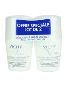 Vichy Déodorant Anti-transpirant 48h. Lot 2x50ml