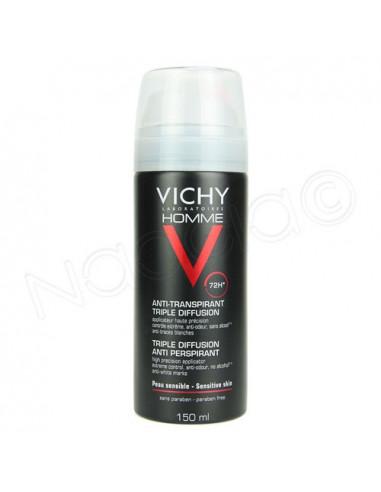 Vichy Homme Anti-transpirant Triple Diffusion 72h. 150ml