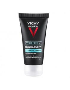 Vichy Homme Hydracool Gel Hydratant Visage & Yeux. 50ml