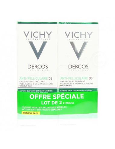 Vichy Dercos Anti-pelliculaire DS Shampooing Traitant. Lot 2x200ml