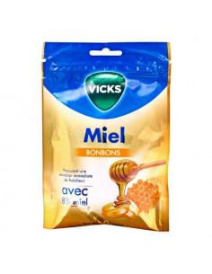 Vicks Bonbons Miel. 72g - miel & menthol haleine fraiche voies respiratoires
