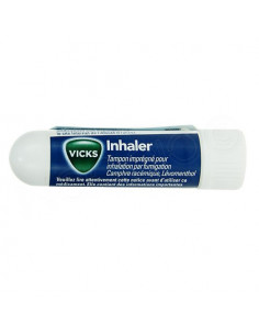 Vicks Inhaler tampon imprégné pour inhalation par fumigation 1ml