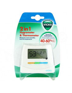 Vicks Hygromètre 2en1. x1
