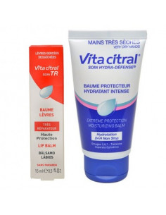 Vita Citral Baume Protecteur Intense Mains 30ml + Vita Citral TR Baume Lèvres 15ml