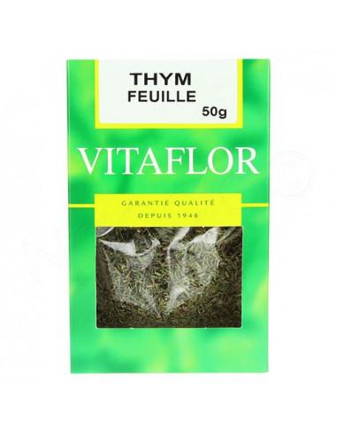 Vitaflor Thym Feuille Herboristerie. 50g
