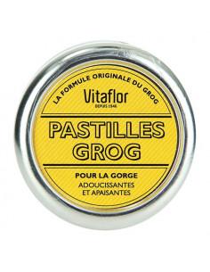Vitaflor Pastilles Grog pour la Gorge Adoucissantes et Apaisantes