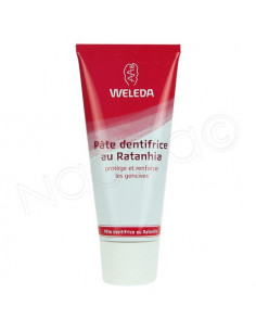 WELEDA SOINS BUCCO-DENTAIRES Pâte dentifrice au Ratanhia. Tube de 75ml - ACL 6181103
