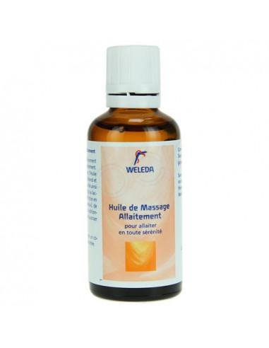 WELEDA Huile de massage allaitement. Flacon de 50ml - ACL 4791205