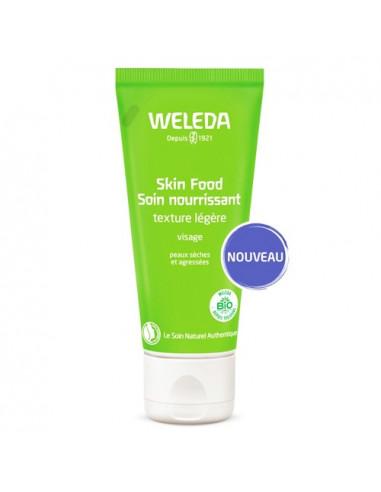 Weleda Skin Food Soin Nourrissant Texture légère Visage. 30ml