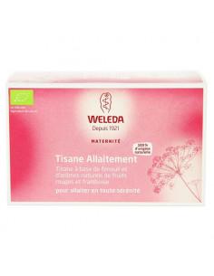 Weleda Tisane Allaitement. Boite de 20 sachets