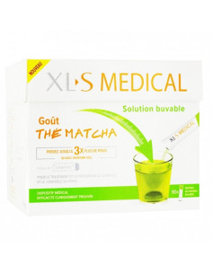 XLS Medical Solution Buvable Thé Matcha. x90 sachets