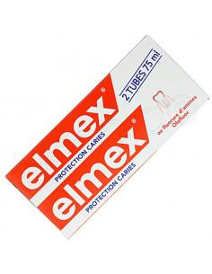 ELMEX PROTECTION CARIES Pâte dentifrice. Lot de 2 tubes de 75ml - ACL 2537916