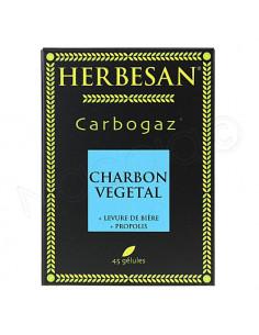 Herbesan Carbogaz Charbon Végétal. 45 gélules - ACL 4567790