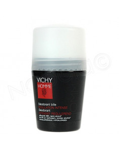 VICHY HOMME Déodorant régulation intense. Bille de 50ml - ACL 4786523