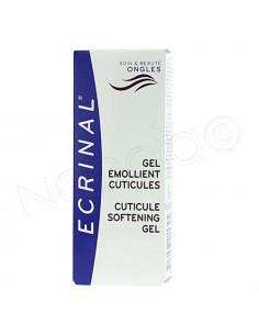 Ecrinal Gel émollient cuticules. Tube de 10ml