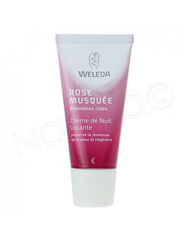 Weleda Rose Musquée Crème Nuit Lissante. Tube 30ml - ACL 9532543