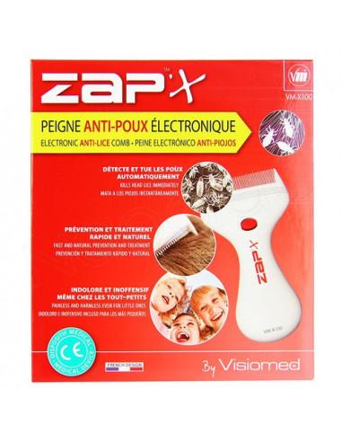 Zap'X Peigne Anti-poux électronique VM-X100