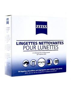 Zeiss Lingettes Nettoyantes Microfibres pour Lunettes. x30