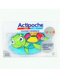 Actipoche Coussin Thermique Junior Animaux. x1 Tortue