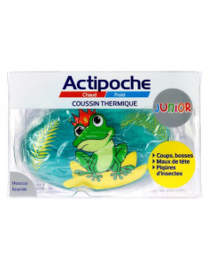 Actipoche Coussin Thermique Junior Animaux. x1 Grenouille