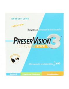 Preservision 3 Stick. Microgranulés Orodispersibles 90 sticks