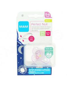 MAM Perfect Nuit Sucette 0-6 mois. x1 violet