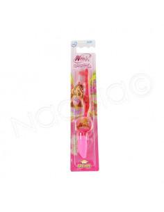 Demapharm Winx Club Brosse à dents lumineuse soft rose