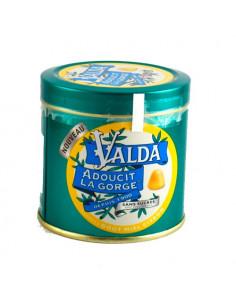 Valda Gommes à Mâcher Sans Sucres Goût Miel Citron 160g