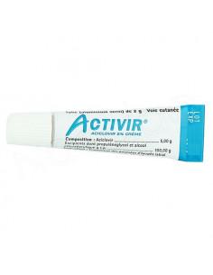 Activir Crème Herpès Labial 5% Aciclovir. tube 2g