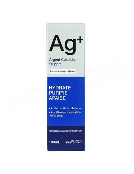 AG+ Argent Colloïdal Lotion 20 ppm 100ml Phyto Terra - 2