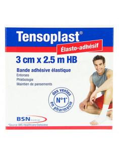 Tensoplast HB Bande adhésive élastique 3cm x 2.5m