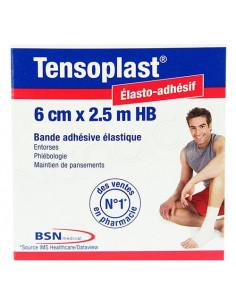 Tensoplast HB Bande adhésive élastique 6cm x2.5m